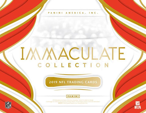 2019 Panini Immaculate Collection Football 3 box 1/2 case break #2