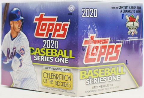2020 Topps Series 1  Jumbo 3 box half case break pick your team #3