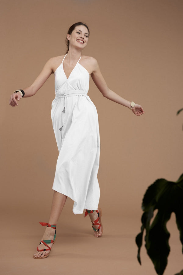 Mare di Latte - ALBANE LONG DRESS COTTON