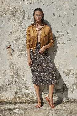 Mare di Latte - BESS SILK JACKET