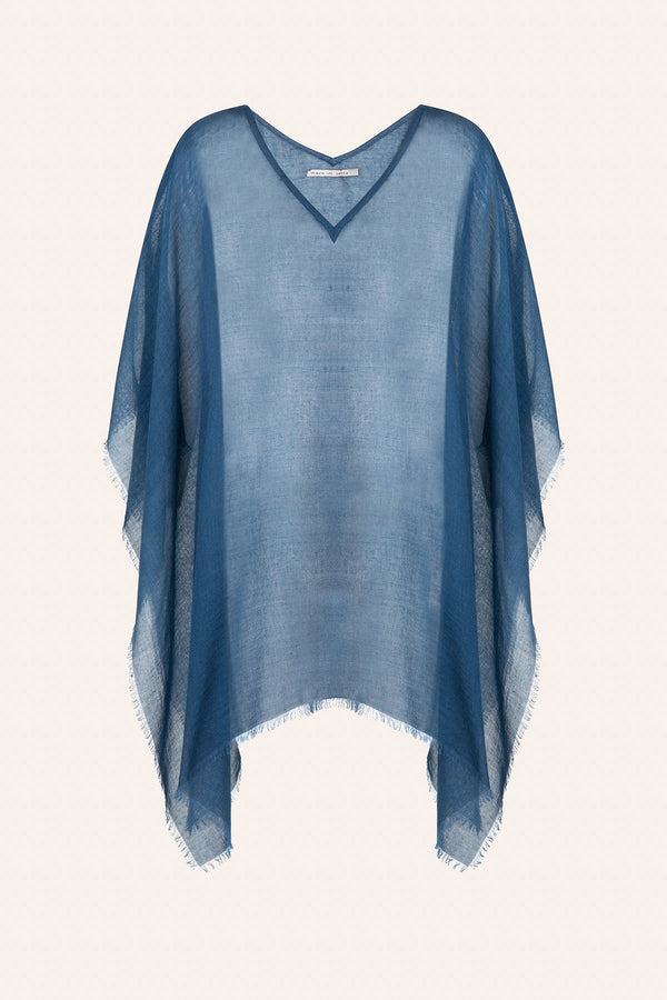 Mare di Latte - PONCHO RAFAELE INDIAN BLUE