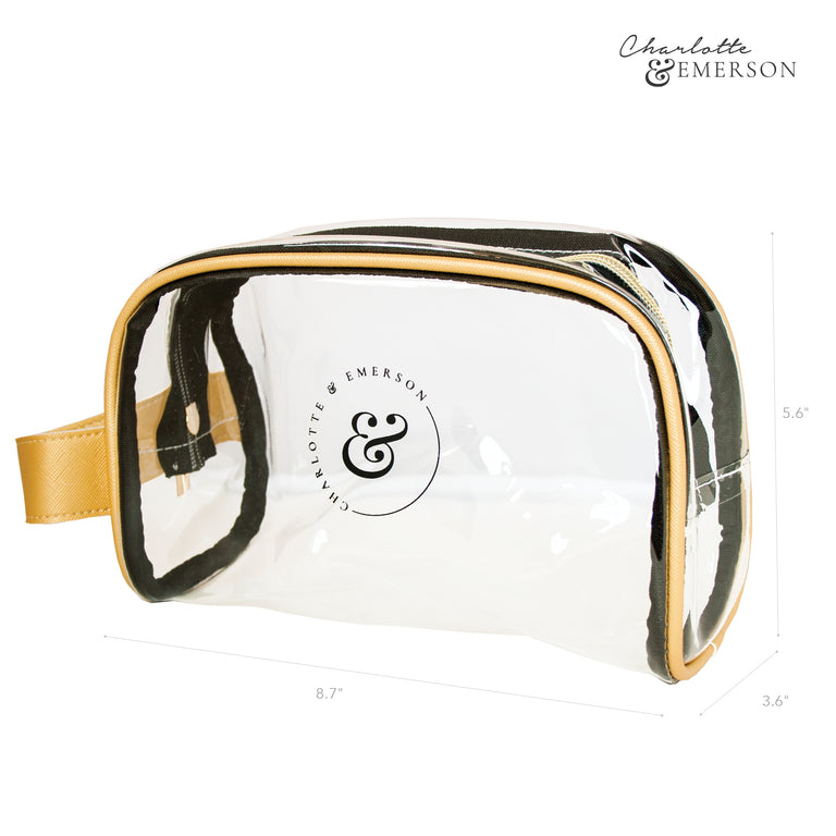 Charlotte and Emerson Amalfi Cosmetic Bag