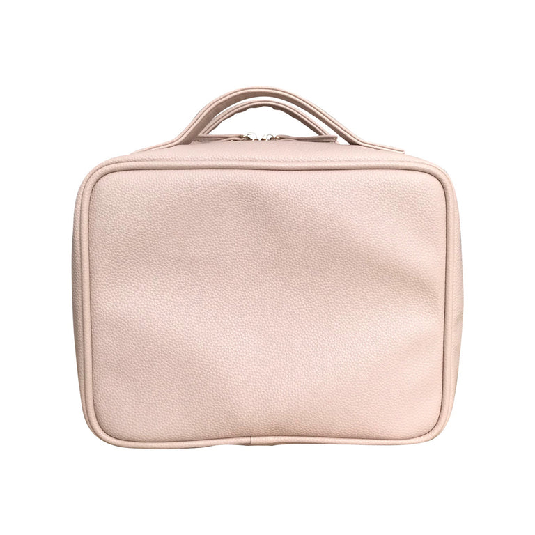 Charlotte and Emerson - Aspen Cosmetic Bag Set- PINK Suitcase Style