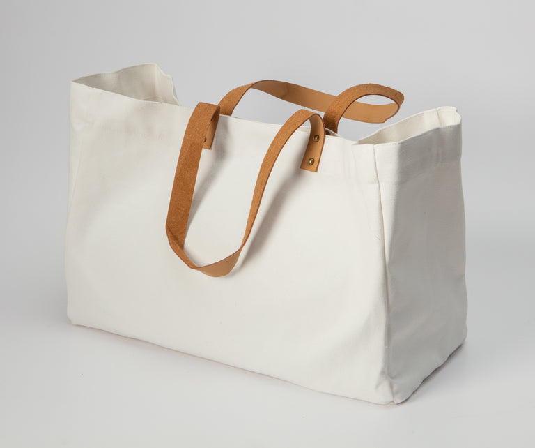 Mama Says Canvas Tote