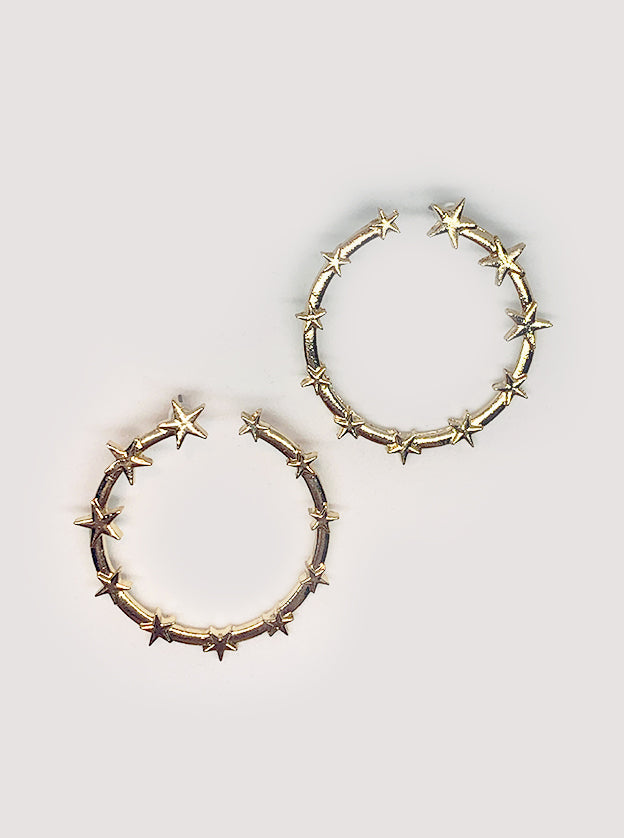 Beyond the Stars Statement Earrings