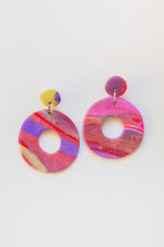 Sarah Polymer Clay Earrings