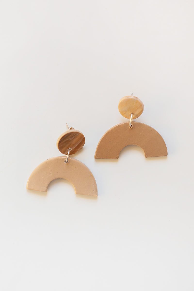 Emma Polymer Clay Earrings