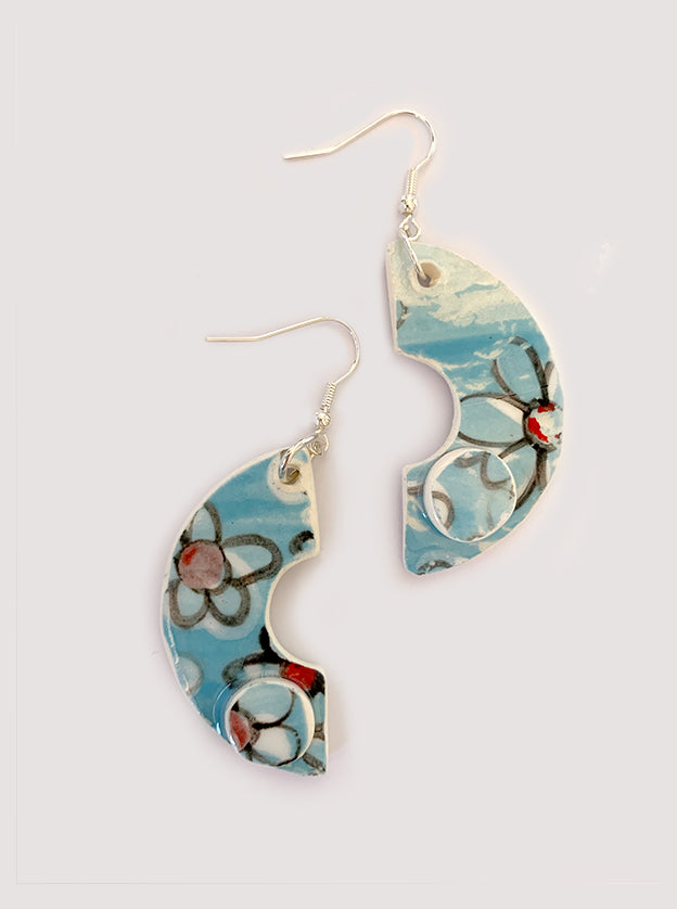 Lyra Ceramic Earrings