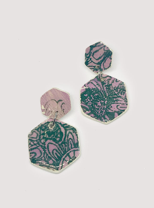 Serenity Ceramic Earrings