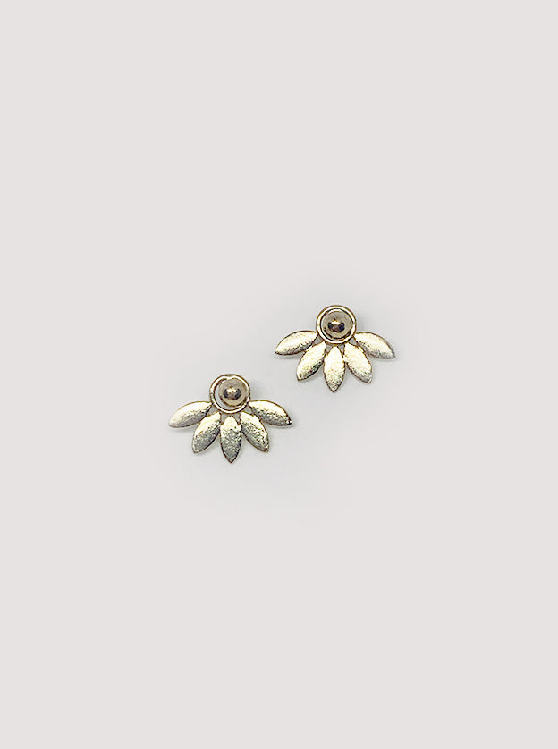 Fabienne Flower Shaped Earrings