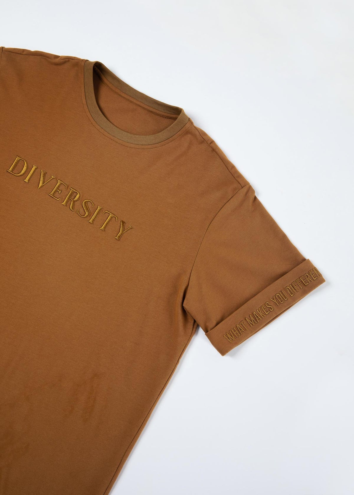 Diversity Embroidered T-Shirt