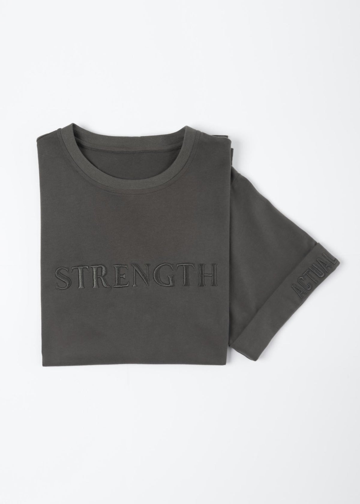 Strength Embroidered T-Shirt