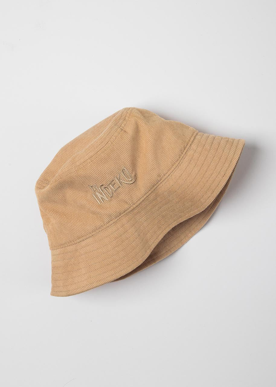 Almond Beige Bucket Hat