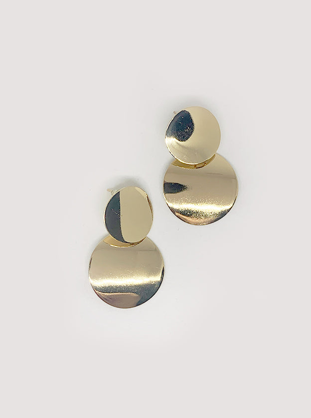 Melodie Geometric Drop Earrings