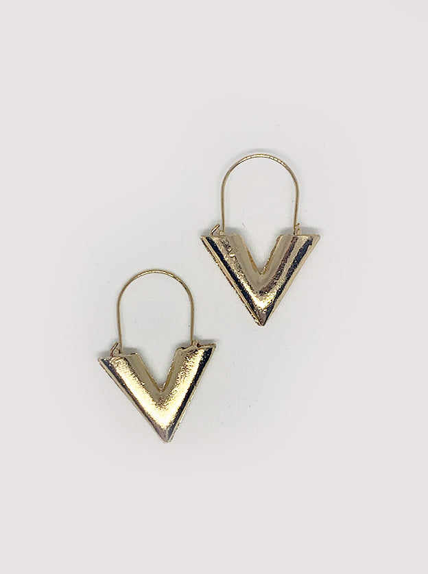 Veronica V-Shaped Earring