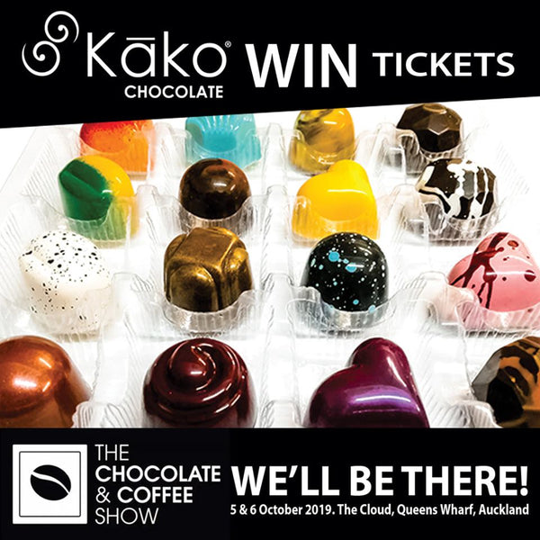 Win Tickets to the Chocolate & Coffee show!