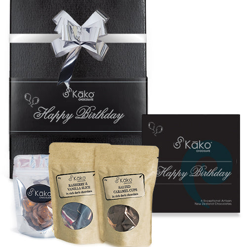 Kāko Chocolate Gift Hamper - Happy Birthday