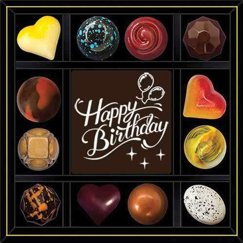 Happy Birthday - Say it in Chocolate (12)