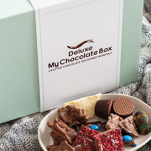 Deluxe My Chocolate Box - 6 Month Package ($48 Per Box)