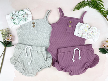 2 pc jewel set || dusky mauve
