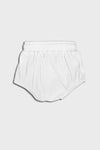 bloomer short || white