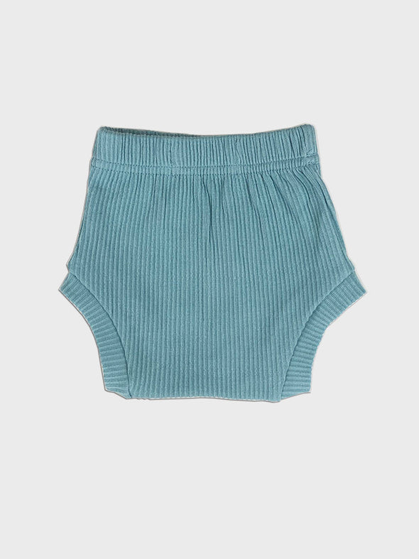 bloomer high waist short || blue surf