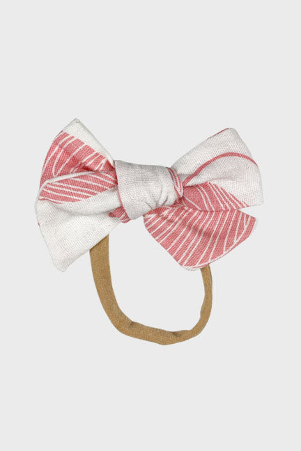 tropical bow headband || blossom