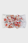 nylon bow headband || seashell