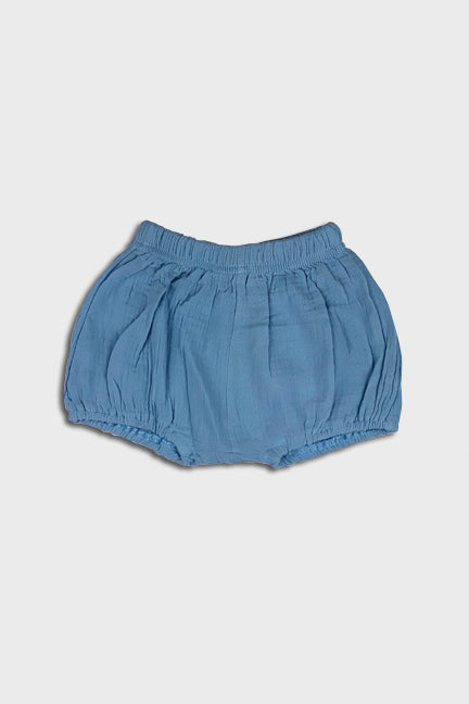 linen bloomer || vintage blue