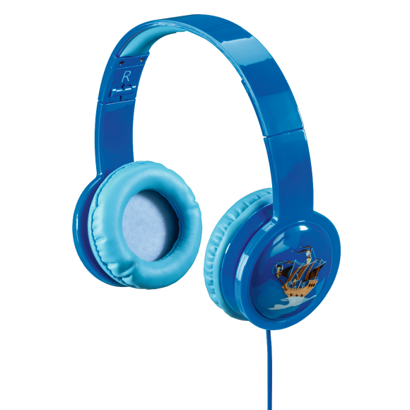 Hama Blink'n Kids Over-Ear Stereo Headphones, blue 135663