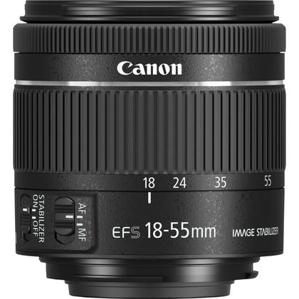 Canon LENS EF-S18-55mm F4-5.6 IS STM
