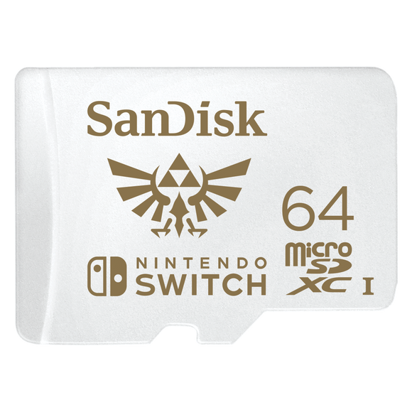 Sandisk microSDXC Extreme 64GB for Nintendo Switch