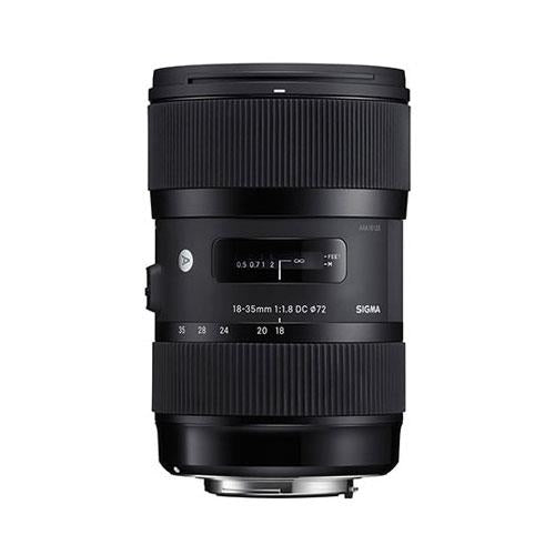 Sigma 18-35mm f/1.8 DC HSM Lens (Canon fit)