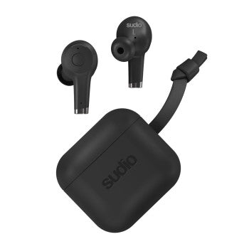 Sudio Ett Bluetooth Earphones, True Wireless, Active NC Black