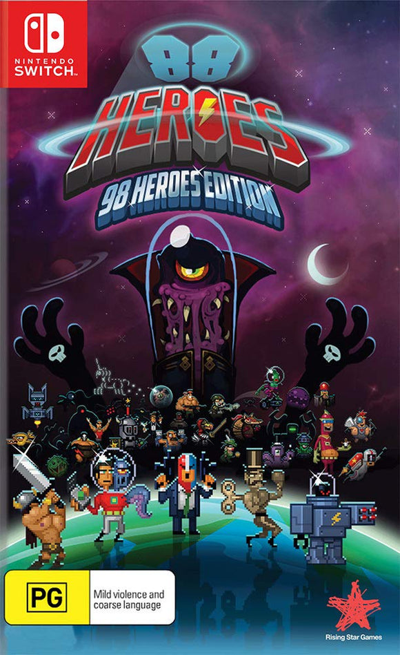 Rising Star Games 88 Heroes: 98 Heroes Edition (Nintendo Switch)