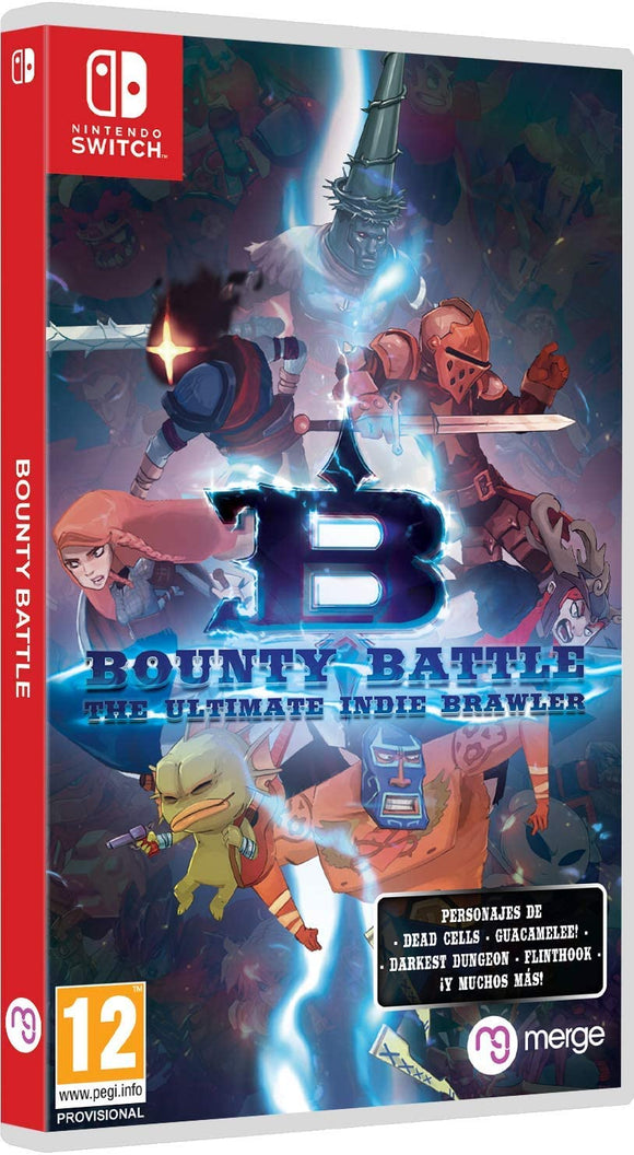 Merge Bounty Battle: The Ultimate Indie Brawler (Switch)