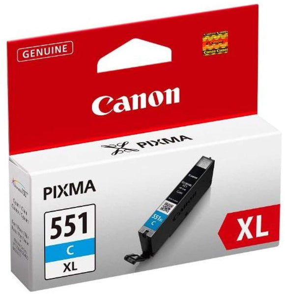 Canon CHROMOLIFE COLOUR INK TANK CYAN XL CLI551XLCYAN