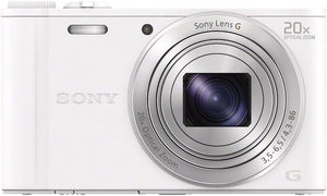 Sony Sony DSC-WX350 Compact Camera (White)