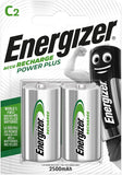 Energizer Energizer Rechargable Batteries C x 2
