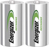 Energizer Rechargable Batteries C x 2