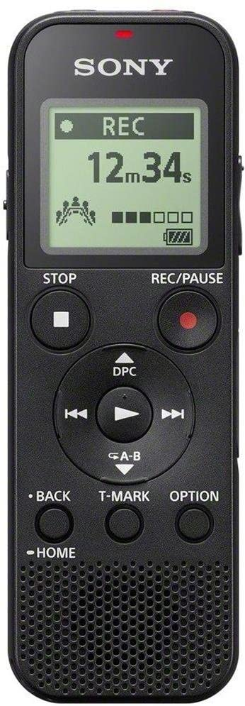Sony Mono Digital Voice Recorder with Built-in USB