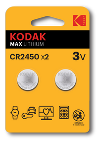 Kodak CR2450 Pack of 2