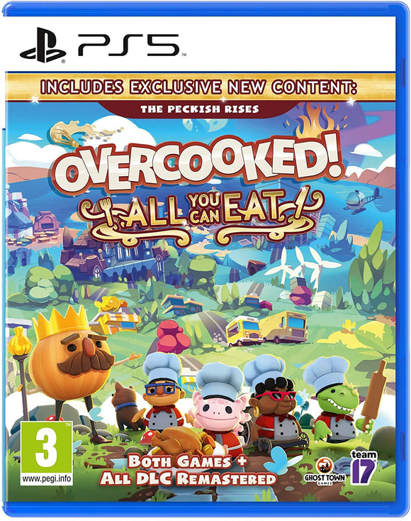 Team17 Overcooked! All You Can Eat (PS5)