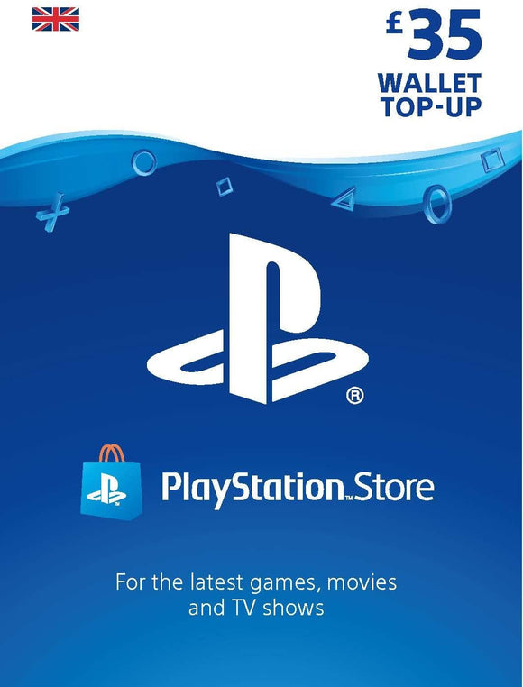 Sony PSN LIVE CARD £35 HANG