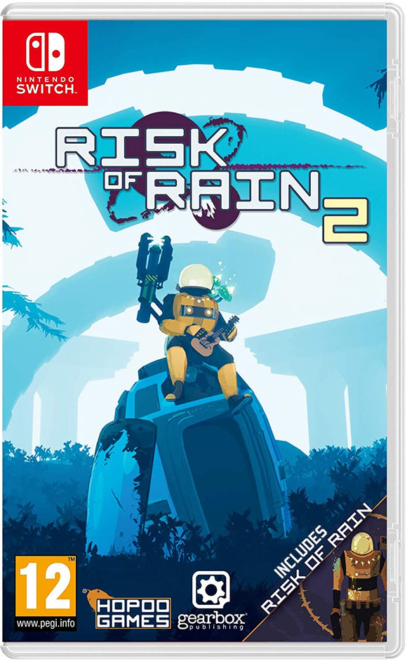 Gearbox Publishing Risk Of Rain 2 (Switch)
