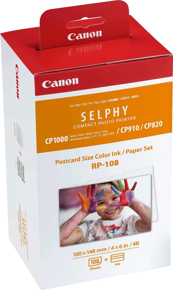 Canon RP-108IP Ink / paper set (108 x 4 x 6
