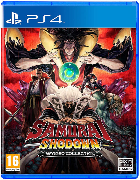 Funbox Games Samurai Shodown Neogeo Collection (PS4)