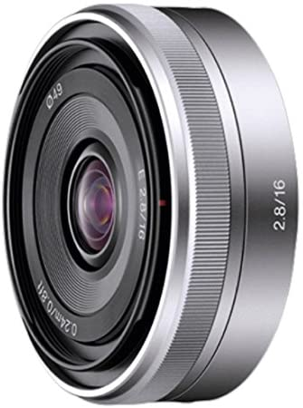 Sony NEX 16mm F2.8 Ultra-thin W. angle Lens SEL16F28