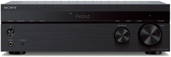 Sony Stereo receiver with Phono input and Bluetooth