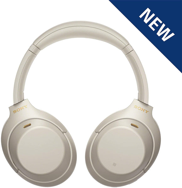 Sony WH-1000XM4 Noise Cancelling Wireless Headphones Silver